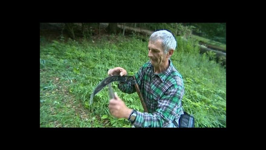 Video Kosení bělokarpatských luk