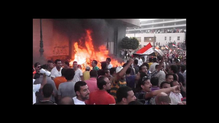 Video Egyptem zmítá nová vlna násilností