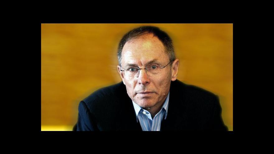 Video Ekonomika ČT24: Rozhovor s Janem Švejnarem