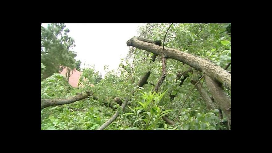 Video Přemysl Šrámek a Vlastimil Weiner o škodách v Královéhradeckém kraji