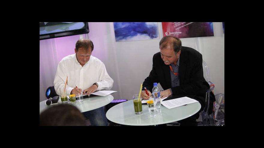 Video Čaj o třetí s Petrem Dvořákem