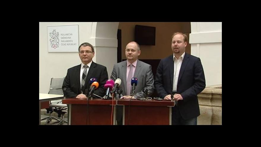 Video Mimořádný brífink ČSSD k aktuální politické situaci