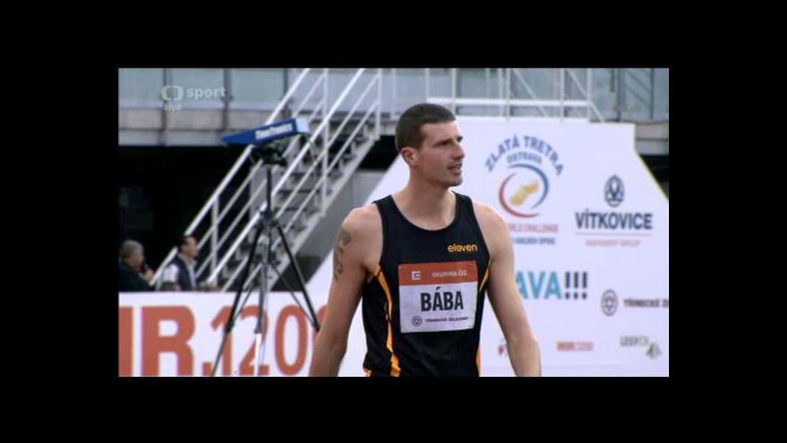 Video Zlatá tretra: Úspěšný pokus Jaroslava Báby na výšce 225 cm