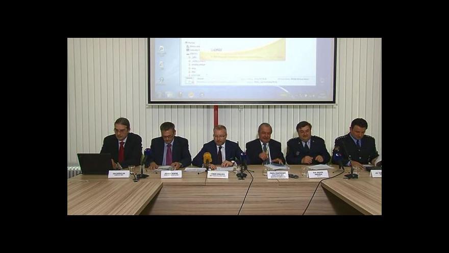 Video Brífink po zasedání Ústřední povodňové komise