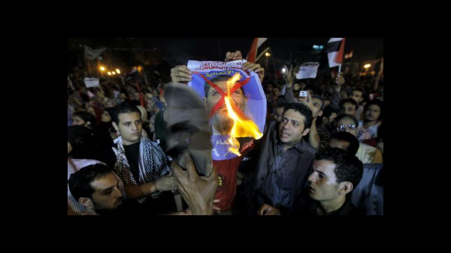 Video Egypt je po Mursího projevu v napětí
