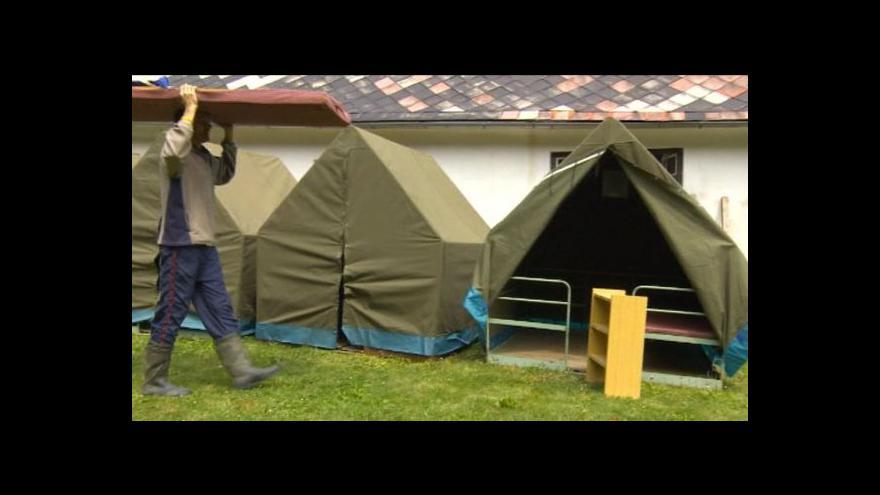Video Dětské tábory po povodních