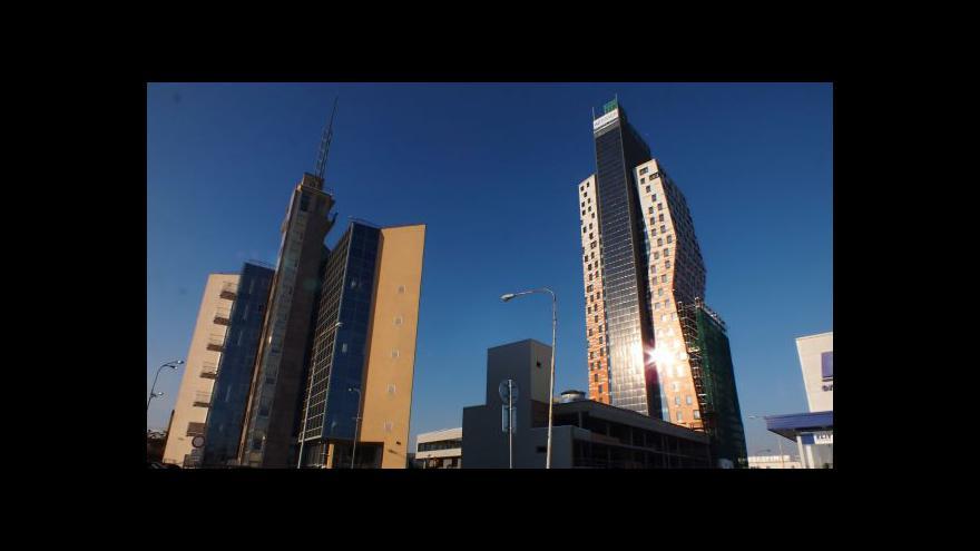 Video Budovou AZ Tower provází projektový manager Pavel Tureček