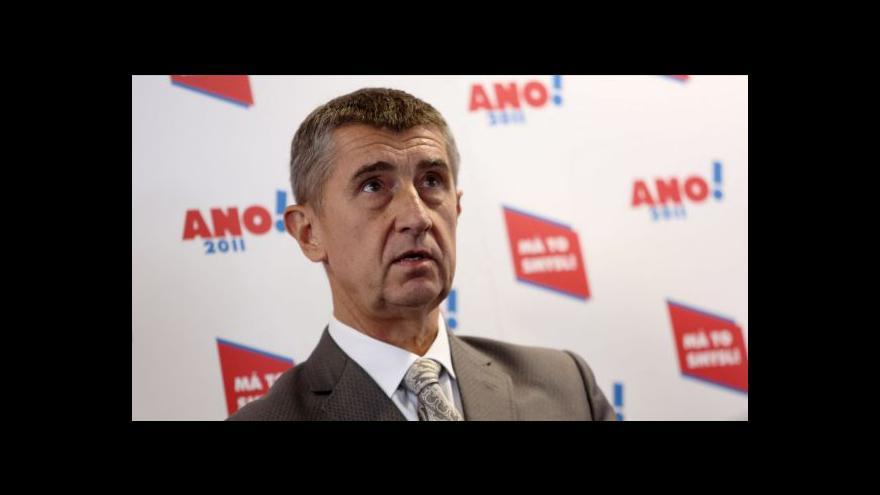 Video Živý vstup Andreje Babiše v Ekonomice ČT24