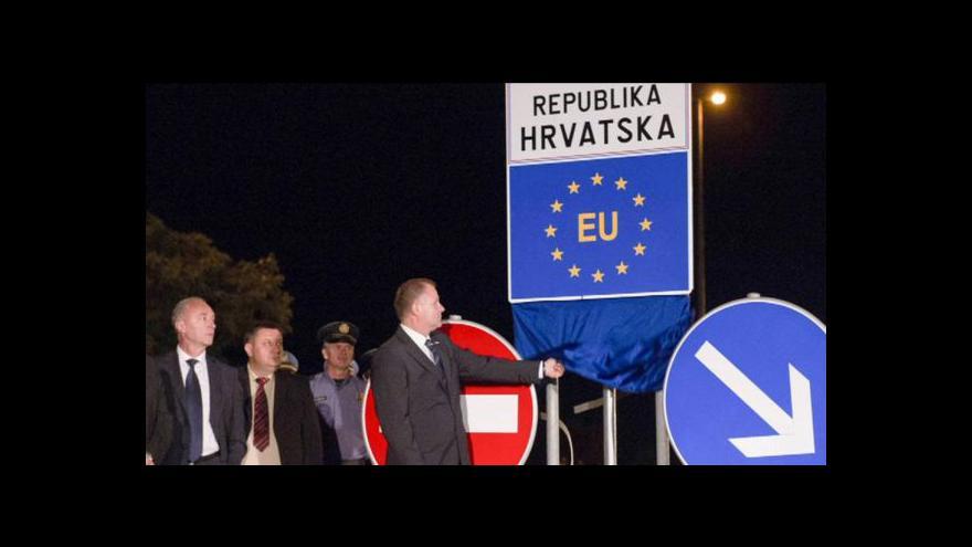 Video Chorvatsko je 28. unijním státem