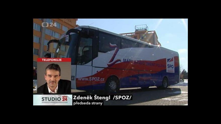 Video Telefonát Zdeňka Štengla