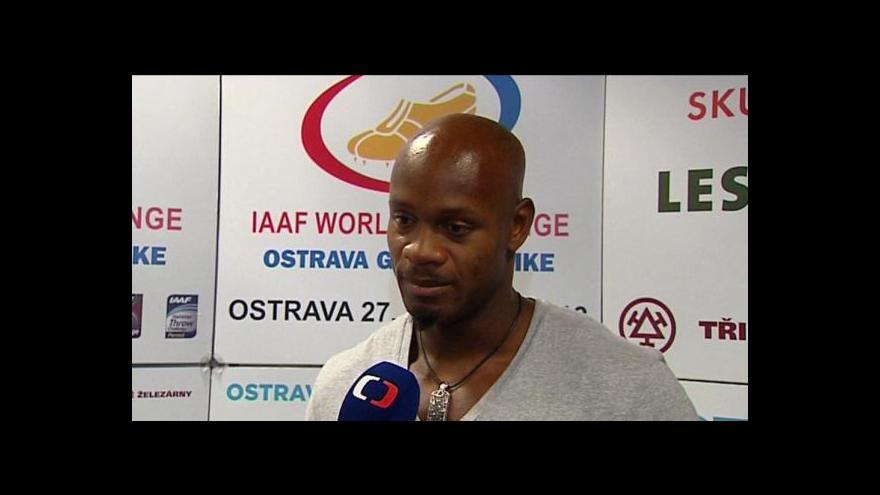 Video Do Ostravy přiletěl jamajský sprinter Powell