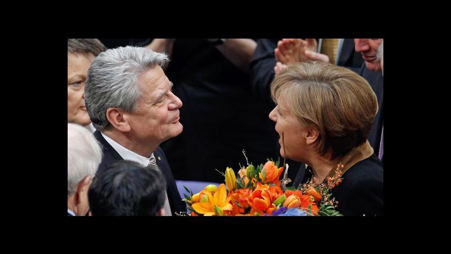 Video Zeman letí do Německa jednat s Merkelovou a mluvit o Evropě
