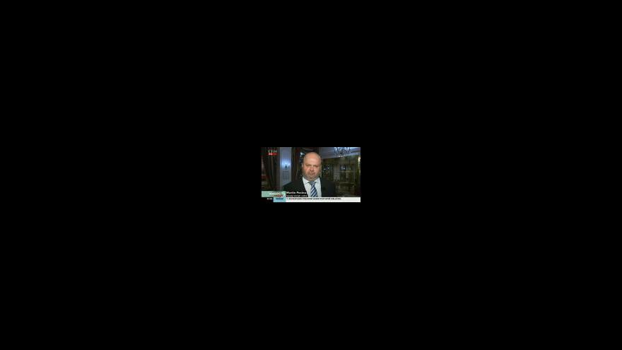 Video Martin Pecina, potvrzený ministr vnitra Rusnokovy vlády, ke jmenování úřednického kabinetu