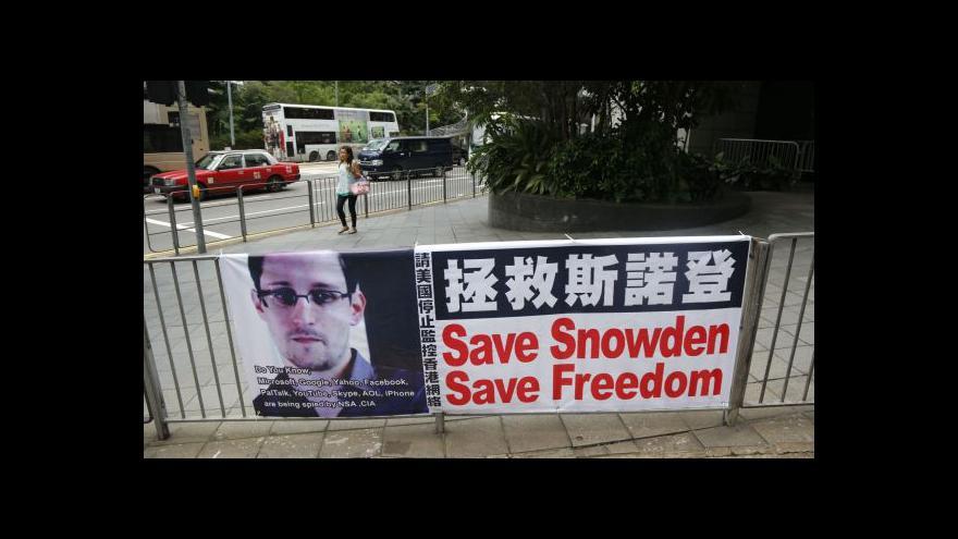 Video Odletí Snowden na Kubu?