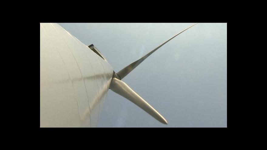 Video Lucie Pokorná o větrných elektrárnách