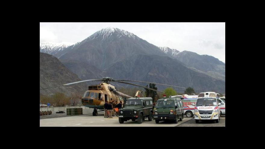 Video V Pákistánu zemřeli dva Slováci
