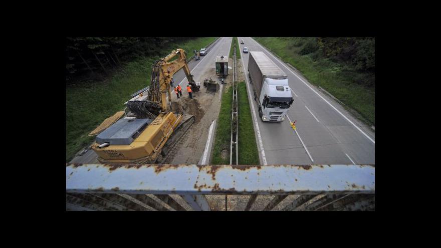 Video Rekonstrukce dálnice v UvR