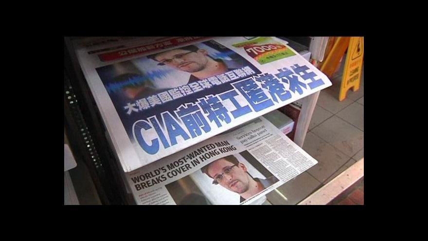 Video Snowden na Kubu zatím neodletěl