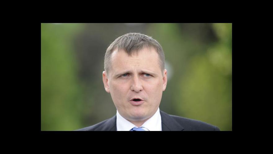 Video Brífink Víta Bárty (VV) po jednání s prezidentem