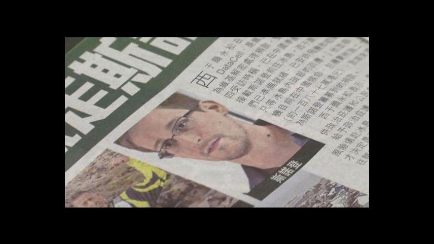 Video Snowden požádal Ekvádor o azyl