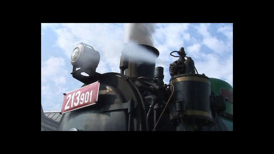 Video Projížďka historickým expresem v Brně