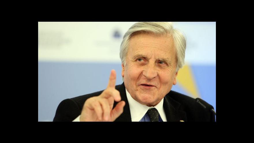 Video Jean-Claude Trichet hostem Událostí, komentářů