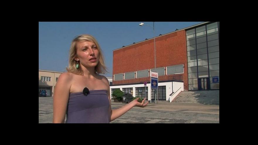 Video Spoluautorka Šárka Svobodová v Pavilonu města Brna