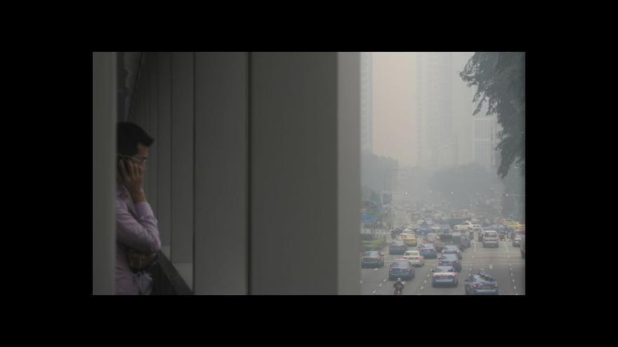 Video Singapur má potíže s ovzduším