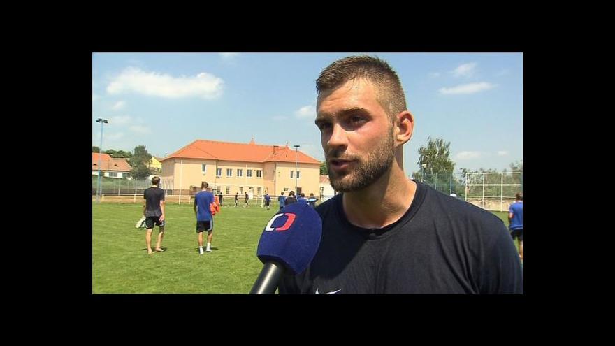 Video Rozhovor s útočníky Václavem Vašíčkem a Markem Heinzem