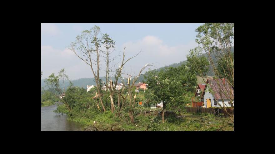 Video Tomáš Vzorek o škodách v Krnově