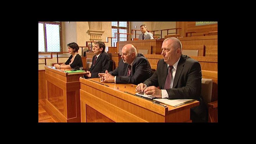 Video Jednání Senátu ČR o nových ústavních soudcích