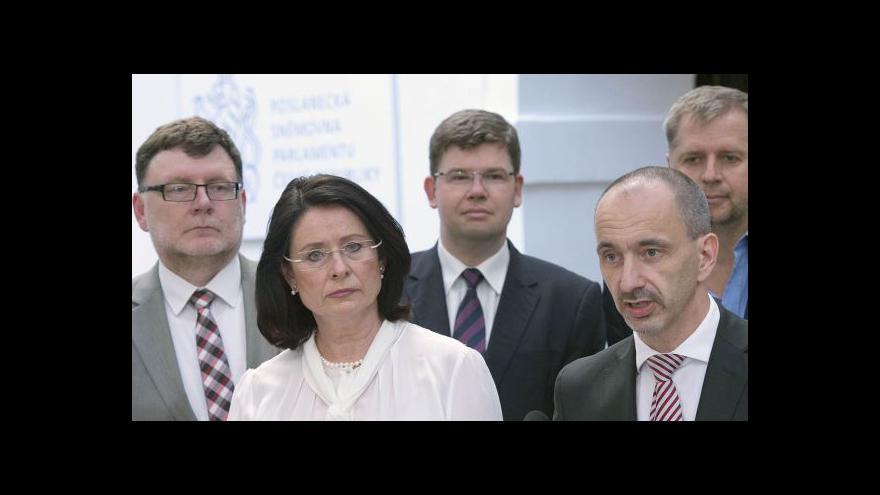 Video Kandidátkou ODS na premiérku je Němcová