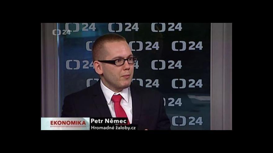 Video Petr Němec o hromadných žalobách