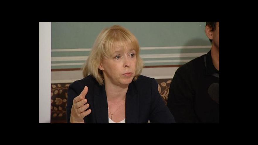Video Hana Marvanová k nepravomocnému propuštění Petra Smetky
