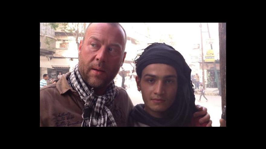 Video Belgičan se vydal do Sýrie hledat syna