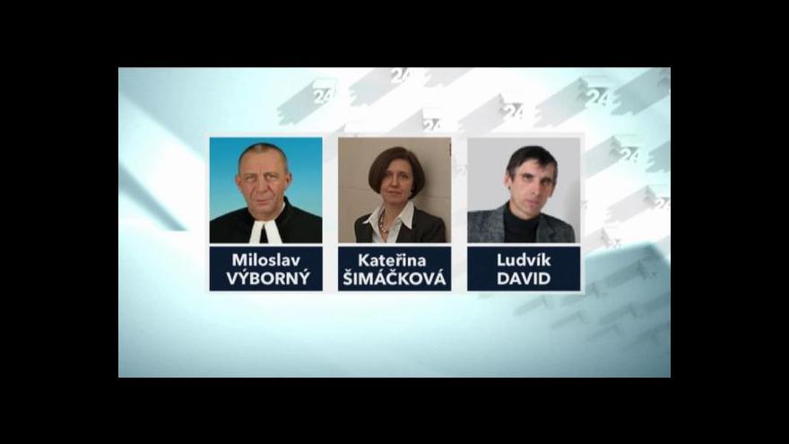 Video Vyjádření kandidátů na ústavní soudce