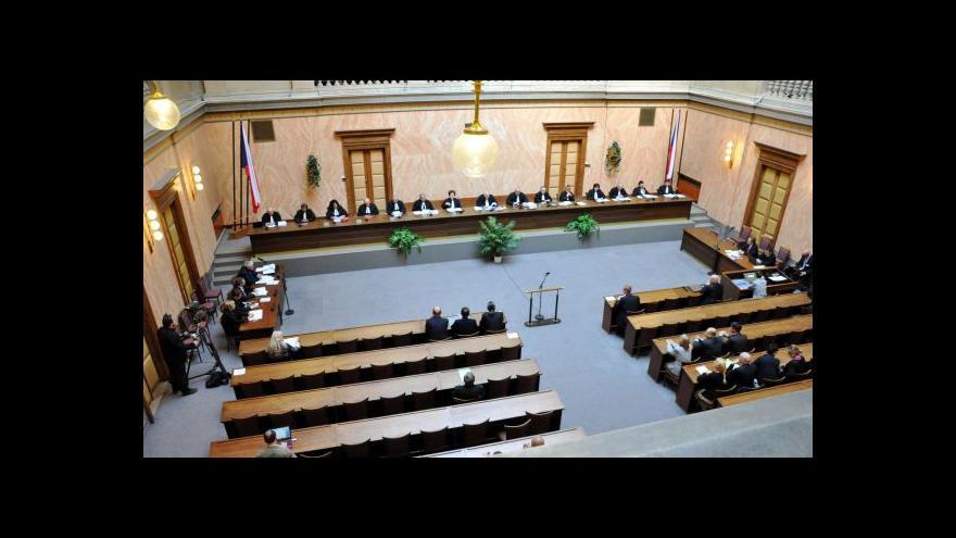 Video Obtížný výběr ústavních soudců