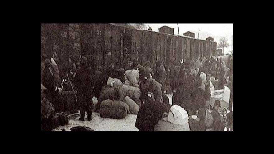 Video Horní Moštěnice si připomíná výročí jednoho z největších masakrů konce války