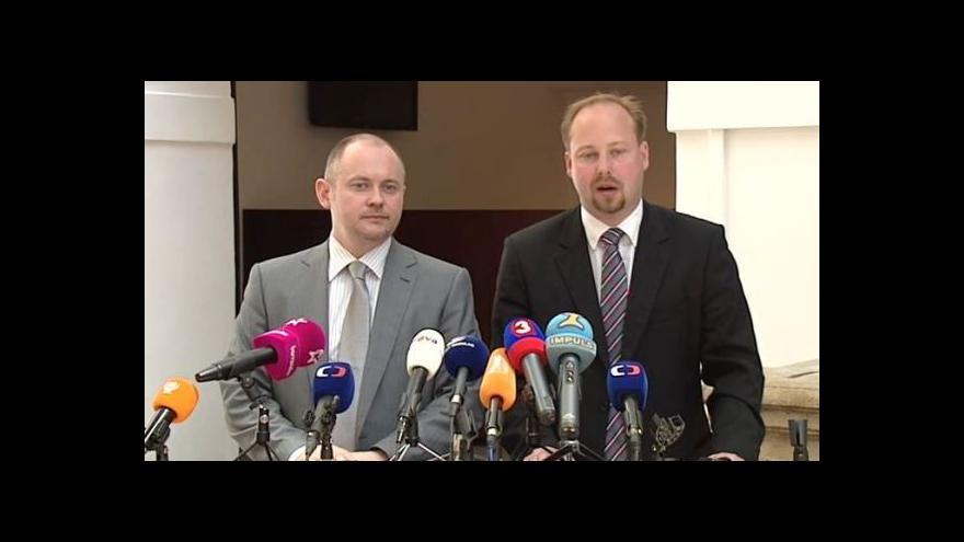 Video Brífink ČSSD k situaci na politické scéně a před jednáním Poslanecké sněmovny