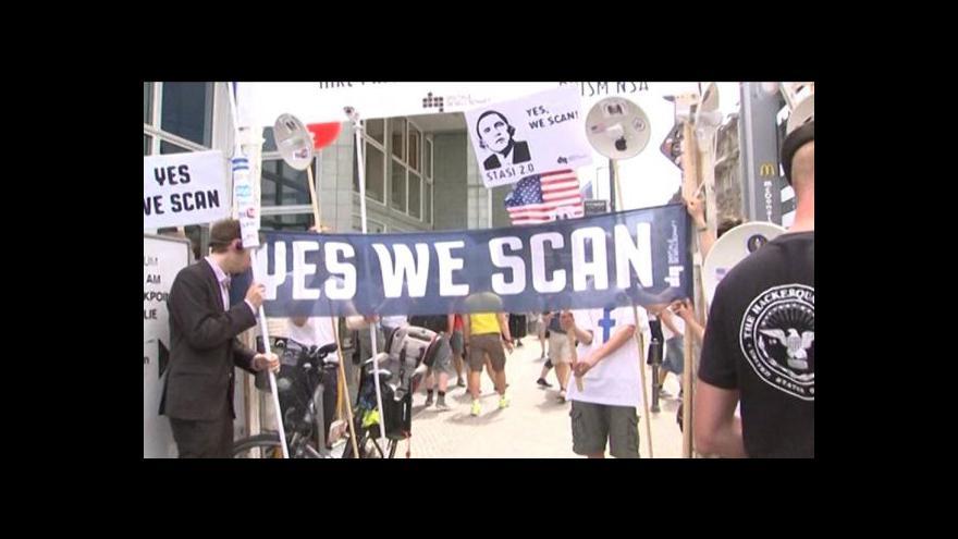 Video Reportáž a vstup Hany Scharffové