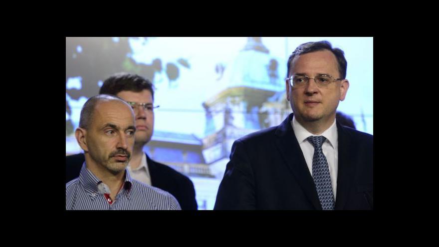 Video Premiér Petr Nečas podá demisi