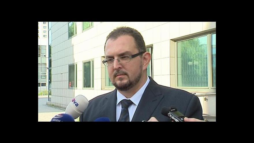 Video TK mluvčího Okresního soudu v Ostravě Alexandra Dadama