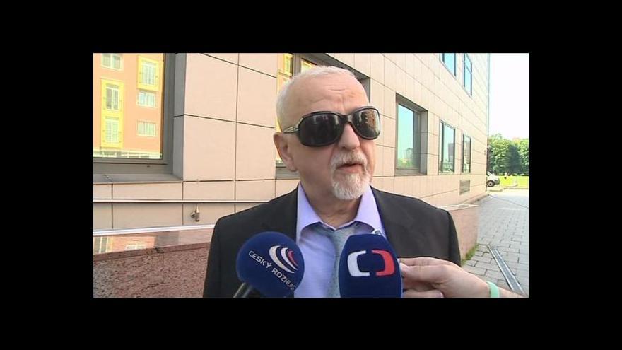Video Vstup Lucie Křížkové od soudu v 13:00