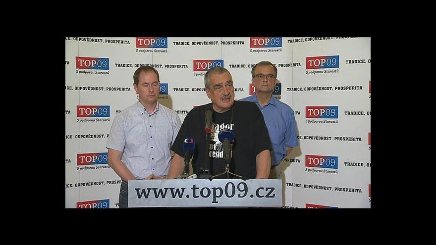 Video Brífink TOP 09