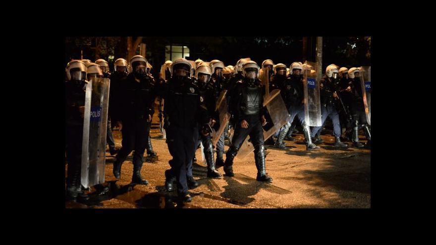 Video Nepokoje v Turecku pokračují