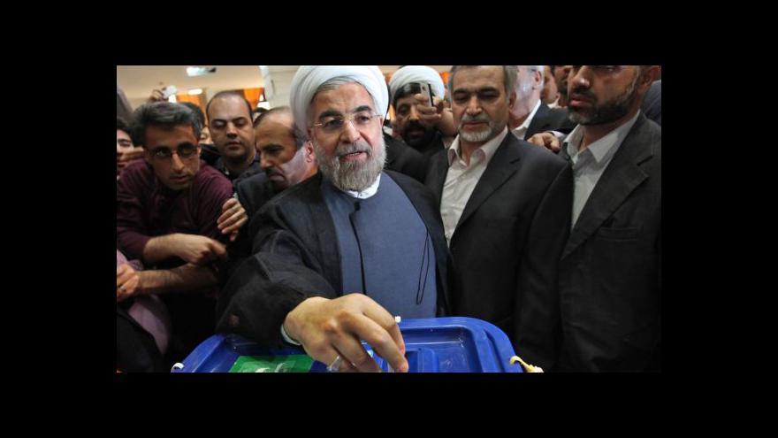 Video Prezidentem Íránu bude Hasan Rouhání