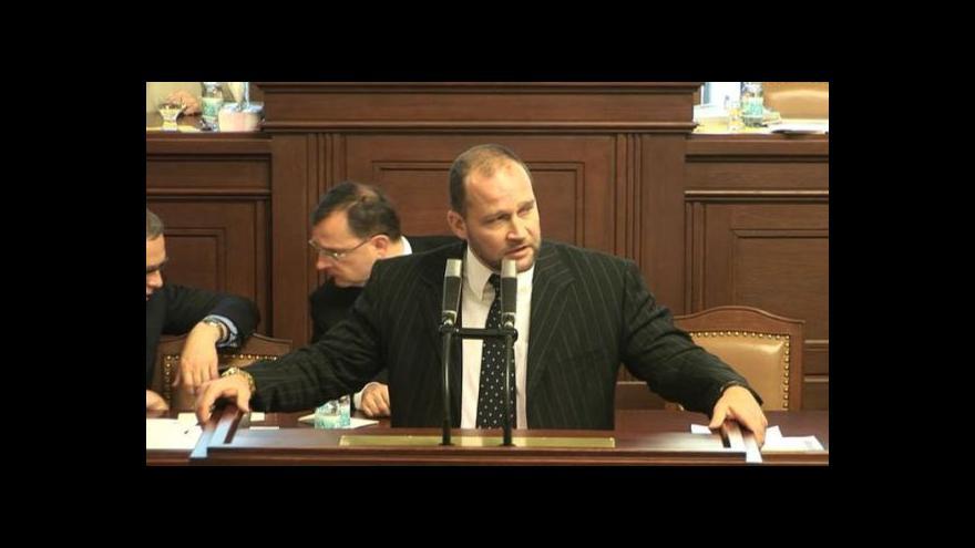 Video Složení mandátu Jiřího Šlégra