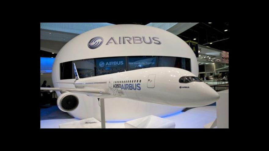 Video Zkušební let Airbusu A350