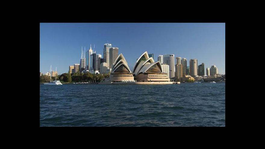 Video Australané odchází z Británie