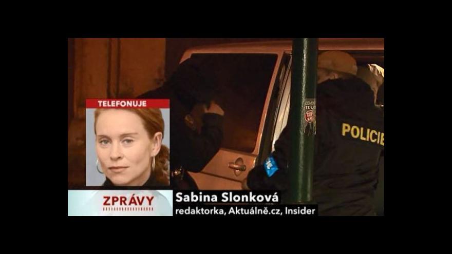 Video Sabina Slonková k zásahu